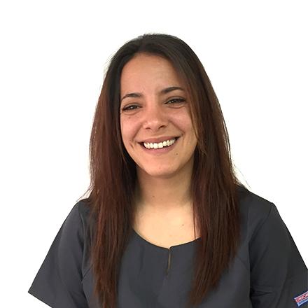 María Teresa, enfermera de la clincia dental de palma del doctor ochogavía