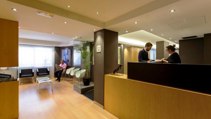 Recepción de una Clínica Dental en Palma