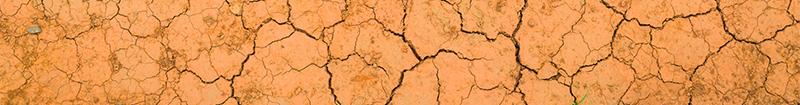 tierra seca representando la boca seca