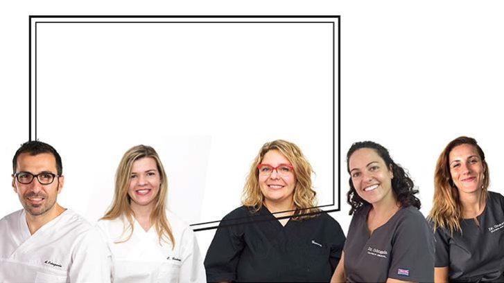 Dentistas y enfermeras de la Clínica Dental Ochogavía