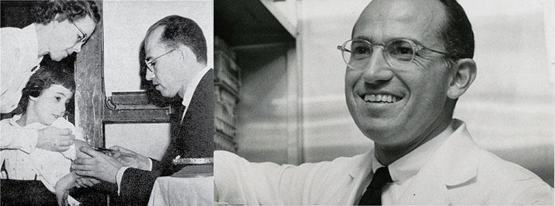 Jonas Sack inventor de la vacuna de la polio