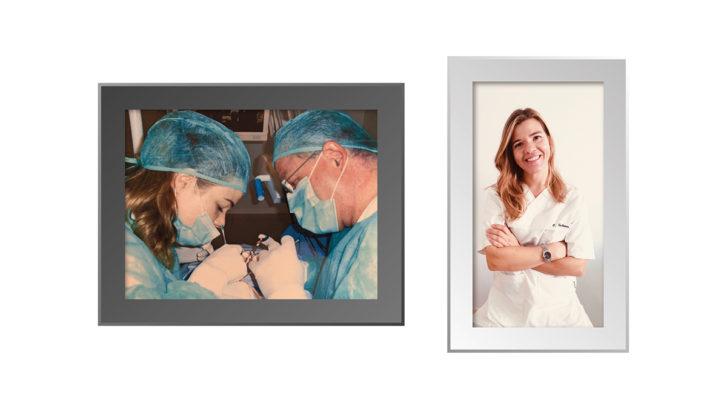 dentista elena galmes en clinica dental ochogavia