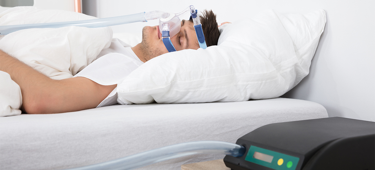 Cpap mascarilla nasal para la introducción de aire